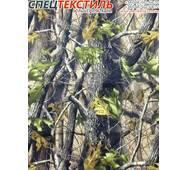 Ткань оксфорд 340D принт желто-зеленый лист (135 г/м2, 100% полиэстер)