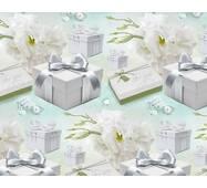 """Подарунковий папір для упаковки  """"Стильний подарунок"""", 5 шт/уп"""