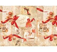 """Подарунковий папір для упаковки  """" Прекрасна жінка"""", 5 шт/уп"""