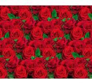 """Подарочная бумага для упаковки  """"Роза с зелёными листьями"""", 5 шт/уп"""