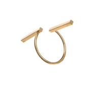 Кольцо Abbelin золотистое K010A, one size