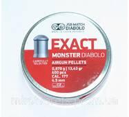 Пули JSB Exact Monster Diabolo 0,87 гр, 4,5 мм