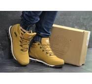 Мужские зимние ботинки рыжие Timberland 6830