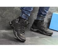 Мужские ботинки зимние черные с серым Adidas Terrex 465 6959