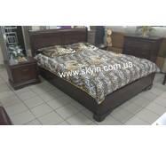 Дерев'яне ліжко Луї Філіпе та приліжкові тумби