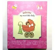 """Фотоальбом """"Little baby"""" (6239) на 80 фотографій 10х15, в коробці"""