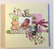 Фотоальбом  Baby на 40 магнітних сторінок