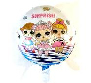Фольгированный круглый шар Куколки Лол Сюрприз