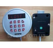 Замок сейфовый с круглой кодовой клавиатурой и электроригелем ED-MS1610