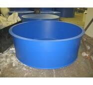 Бассейн круглый для рыборазведения объёмом 3,2 м3, полипропилен