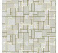 Обои бумажные влагостойкие Лабиринт серый 2182