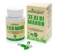 Зелені манни, 60 капсул