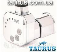 Квадратный ТЭН HeatQ MS chrome: регулятор 30-60С +таймер 2ч. +маскировка провода +LED; в полотенцесушитель 1/2