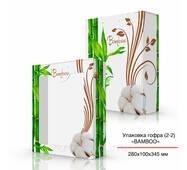 Упаковка гофра (2-2), 280х100х345 мм Бамбук-Хлопок