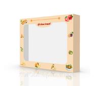 Упаковка для продуктов питания (45-1), 230х180х45 мм, fruits