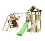 Детская игровая площадка Blue Rabbit PAGODA + CHALLENGER Зелена