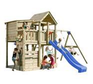 Игровая детская площадка Blue Rabbit PALAZZO + SWING Синя
