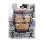 Тандир Малий Утепленний з Утепленою кришкою, в мозаїці