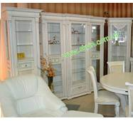 Столовий комплект Едельвейс з масиву дуба