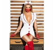 "Еротичний костюм медсестри ""Старанна Луїза"" М"