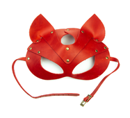 Маска кішки LOVECRAFT червона