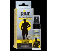 Пролонгирующий спрей pjur Superhero Strong Spray 20 ml, с экстрактом имбиря, впитывается в кожу