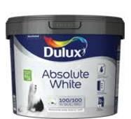 "Dulux ""ABSOLUTE WHITE"" водоэмульсионная краска для стен и потолков 9,0л."