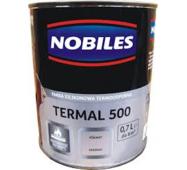 Термостойкая краска Nobiles Termal 500 черная 0,7л. Топ продаж!