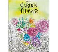 Расскраска Darice Coloring Book Garden Flowers