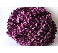 Рюши - атлас, 5см*50м  Фиолетовый
