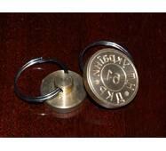 Печатка металева с гравіюванням діаметром 25 мм