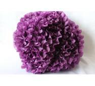 Рюши - шелк, 5см*50м  Фиолетовый