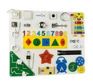 Бизиборд BrainUp Smart Busy Board настольная развивающая игра доска из 25 деталей M 50*60 см 6004_3)