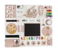Бизиборд BrainUp Smart Busy Board настольная развивающая игра доска из 30 деталей L60*70 см (6005_2)