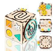 Бизикуб BrainUp Smart Busy Cube настольная развивающая игра кубик из 6 деталей 10*10 см (6007_2)