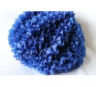 Рюші - шовк, 5см*50м  Синій