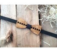 Деревянная бабочка галстук флоуресцентная ручной работы Модель №5