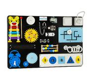 Бизиборд BrainUp Smart Busy Board настольная развивающая игра доска из 18 деталей S40*60 см (6003_2)