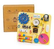 Бизиборд BrainUp Smart Busy Board настольная развивающая игра доска из 10 деталей Mini 28*25 см