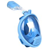 Детская маска для плавания Seagard Easybreath-II полнолицевая для дайвинга с креплением для камеры XS