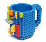 Чашка-конструктор SUNROZ з деталями в комплекті 350 мл Синій (3776)