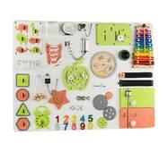 Бизиборд BrainUp Smart Busy Board настольная развивающая игра доска из 35 деталей XL60*80см (6006_1)