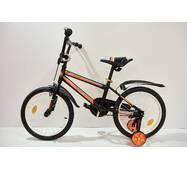 """Велосипед 18""""- Remmy BEST черно-оранжевый (матт)"""
