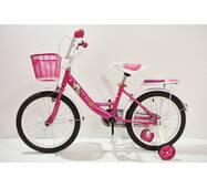 """Велосипед 18""""- Remmy VIOLETTA рама11"""" розово-білий (глянець)"""