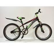 """Велосипед 20""""- Remmy GRAVITI рама 10.5"""" чорно-фіолетовий (м)"""