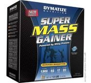 Гейнер Super Mass Gainer Банан Dymatize 5,4 кг