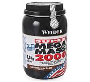 Гейнер Mega Mass 2000 3 кг банку WEIDER