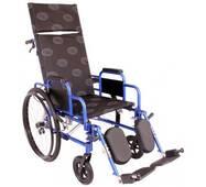 Многофункциональная инвалидная коляска OSD MILLENIUM RECLINER (REP - синяя)