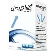 Ланцет (скарификатор) медицинский стерильный 28G Droplet (Дроплет), 10 шт.