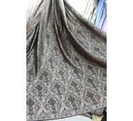 Ткань для штор корона коричневый-беж